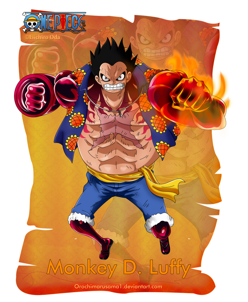 Monkey D. Luffy by orochimarusama1 on DeviantArt