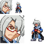 Rinnosuke Megaman Zero style