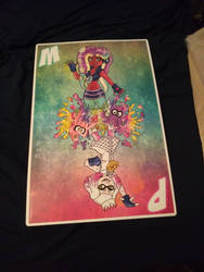 off the hook print (Comic Con haul 1 of 3)