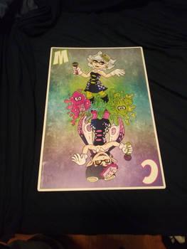 Squid Sister's print (Comic Con haul 2 of 3)
