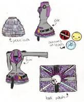 fashion design by nightdreamer351