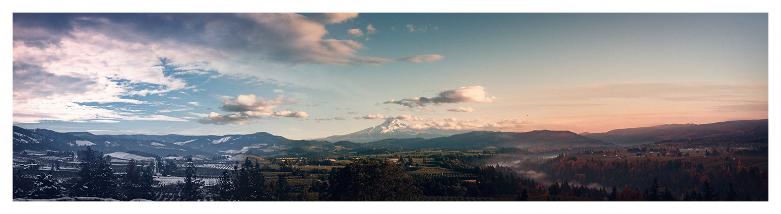 Hood River Seasons by sirgerg