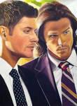 Sam and dean Winchester FBI