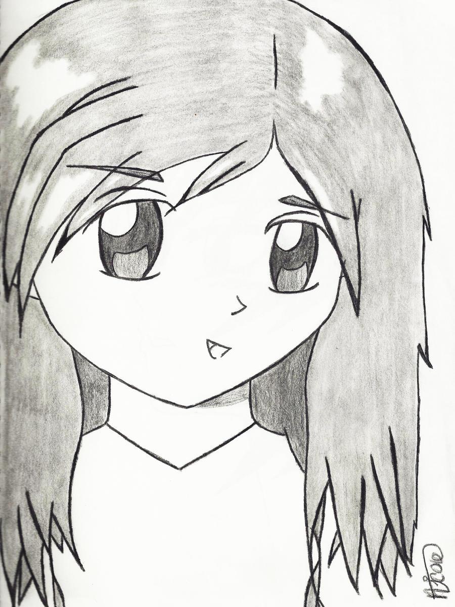 Sketch Easy Cute Drawings Of Girls