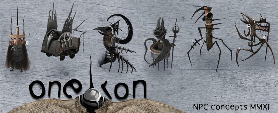 oneiron NPC designs