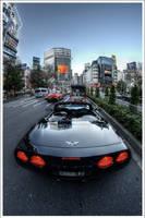 Shibuya's Corvette by Graphylight