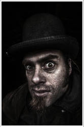 Man with Hat by Graphylight