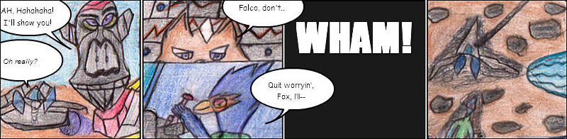 Star Fox comic 1