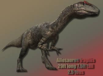 Allosaurus Profile by Davidy12
