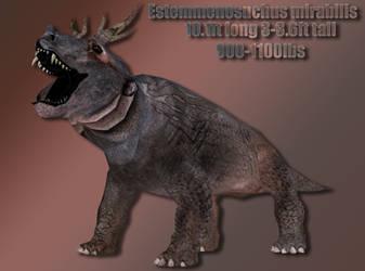 Estemmenosuchus Profile