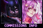 Commissions info [OPEN] by morfinovoemore