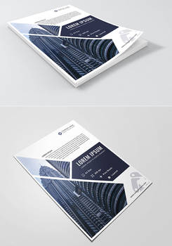 Corporate Free PSD Flyer Template