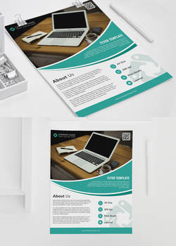 Corporate Office Free PSD Flyer Template