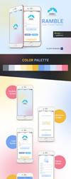 Travel Mobile App - RAMBLE by designpex