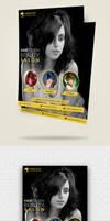 Modern Hair Salon Flyer Template by designpex