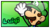 Stamp - Luigi - SPM by CutyAries