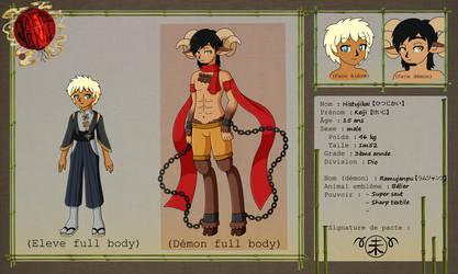 Academie Yokai - Keiji Application by CutyAries
