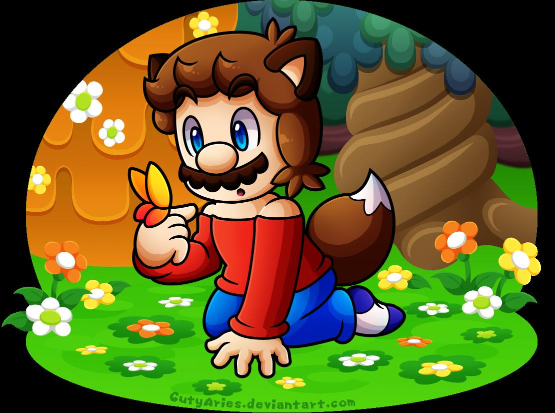 Commissions - Wolfie Mario (BabyAbbieStar) by CutyAries