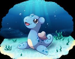 Pokebip Contest - Nessido (Lohklass Pre-evolution) by CutyAries