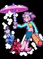 Fanart - Rainbow Quartz 2.0 + SpeedPaint by CutyAries
