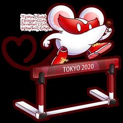 Tokyo 2020 Nintendolympics Collab - Ms.Mowz