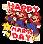 Fanart - Happy Mar10 Day + SpeedPaint