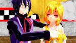 Day 2 - Cuddling Somewhere by Animechick2000