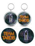 Team Tardis Keyfob/Bag Charm design by Mime666