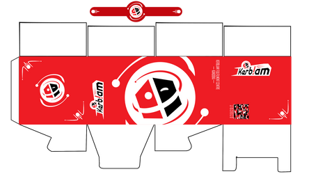 Doctor Who inspired Kerblam! box template by Mime666