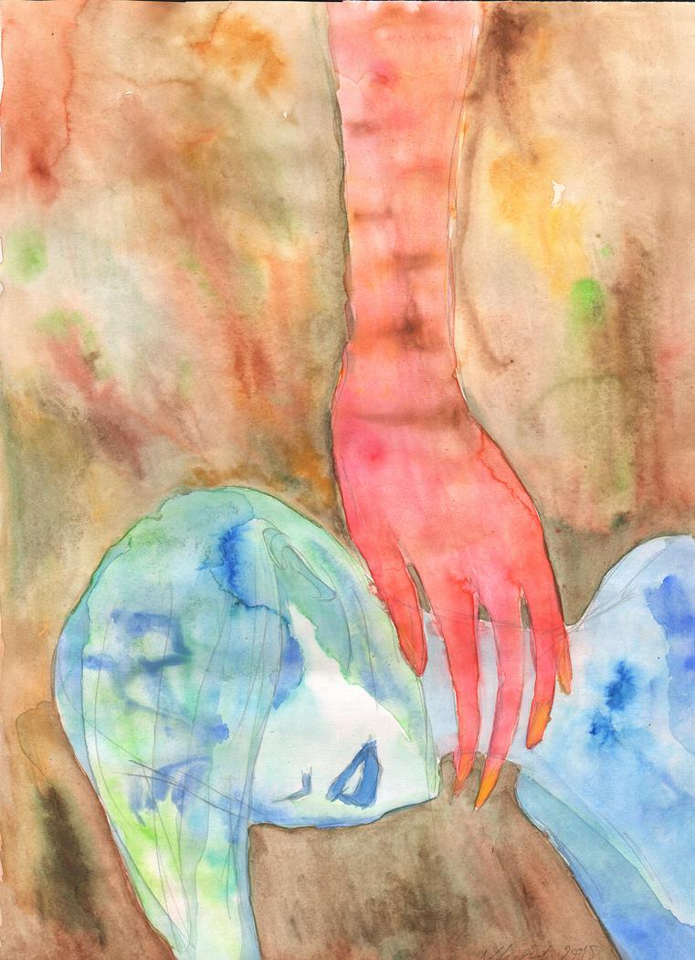 Drowning and Choking by AKrukowska