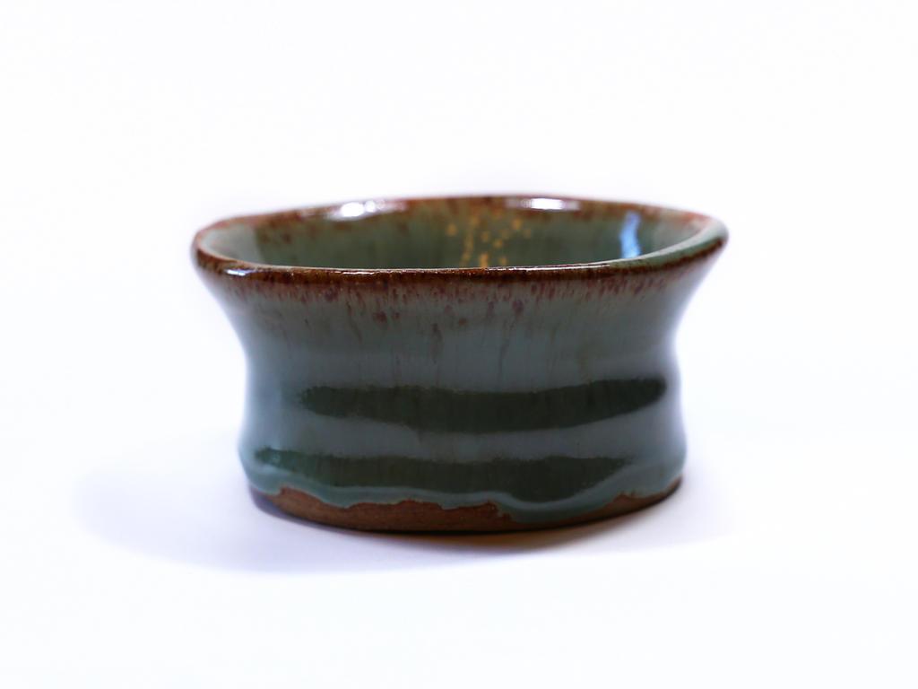 Tenmoku Glazed Bowl by AKrukowska