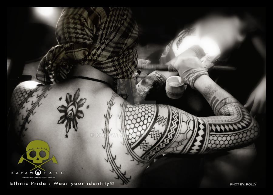 traditional kalinga hand tapped tattoo by kayawtatu on deviantart. Black Bedroom Furniture Sets. Home Design Ideas