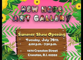 July Art Exhibit Promo