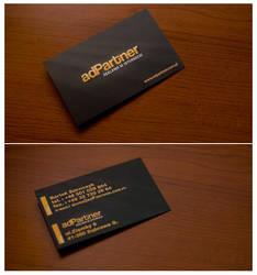 adPartner business card by rzepak