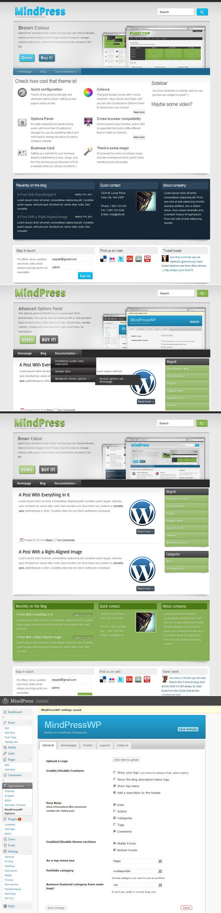 MindPress - Premium Wordpress by rzepak