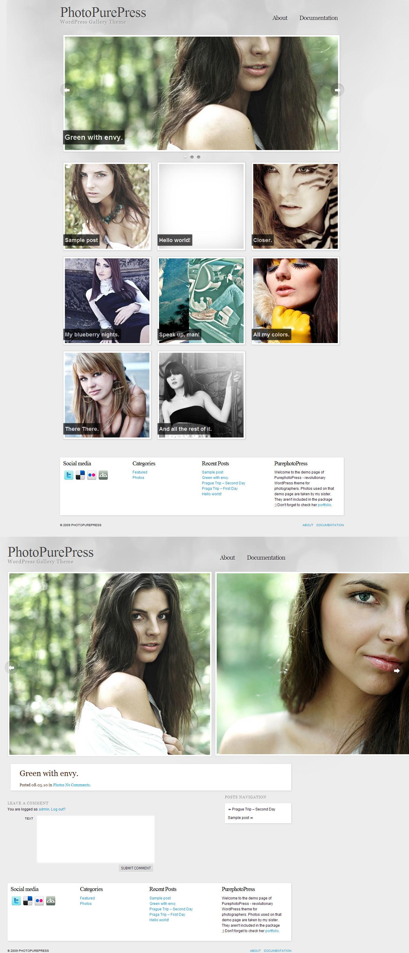 PhotopurePress Wordpress by rzepak