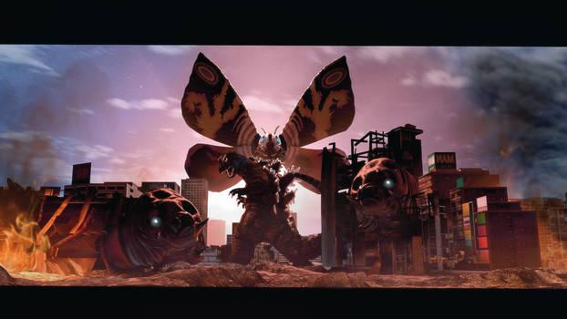 Godzilla VS Mothra 1964