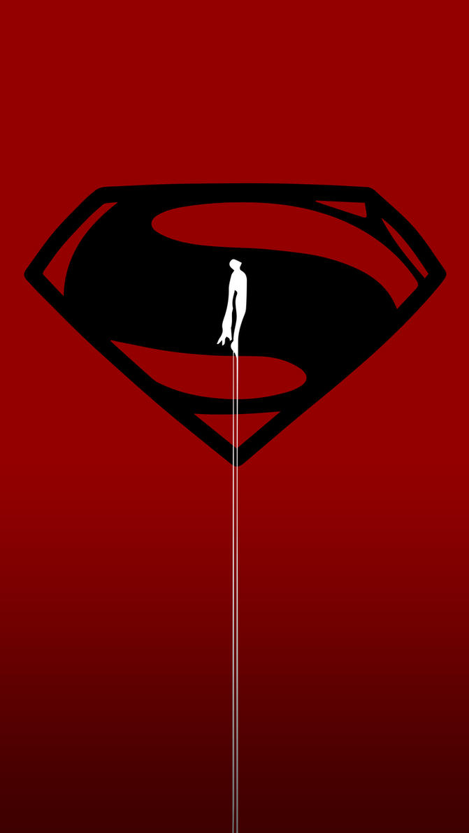 Man Of Steel IPhone 5 Wallpaper Version 3 By Blessed1Beloved1