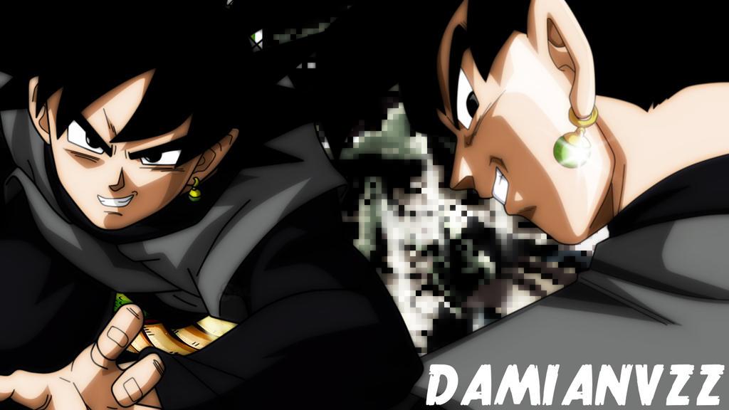 Black Goku Fondo De Pantalla And Fondo De Escritorio: Black Goku By DamianVzz On DeviantArt