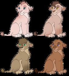 Lion Cub Adopt Sheet 1 (2/4) OPEN