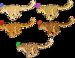 Snow Leopard Adopt Batch 1 (5/5) OPEN by ShadowDawn93