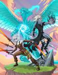 Nahiri, Sorin and Ugin Fan art