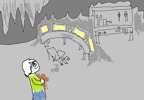 The Emu cave