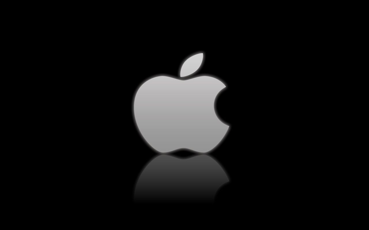 Apple Logo on Black by 1nteresting on DeviantArt