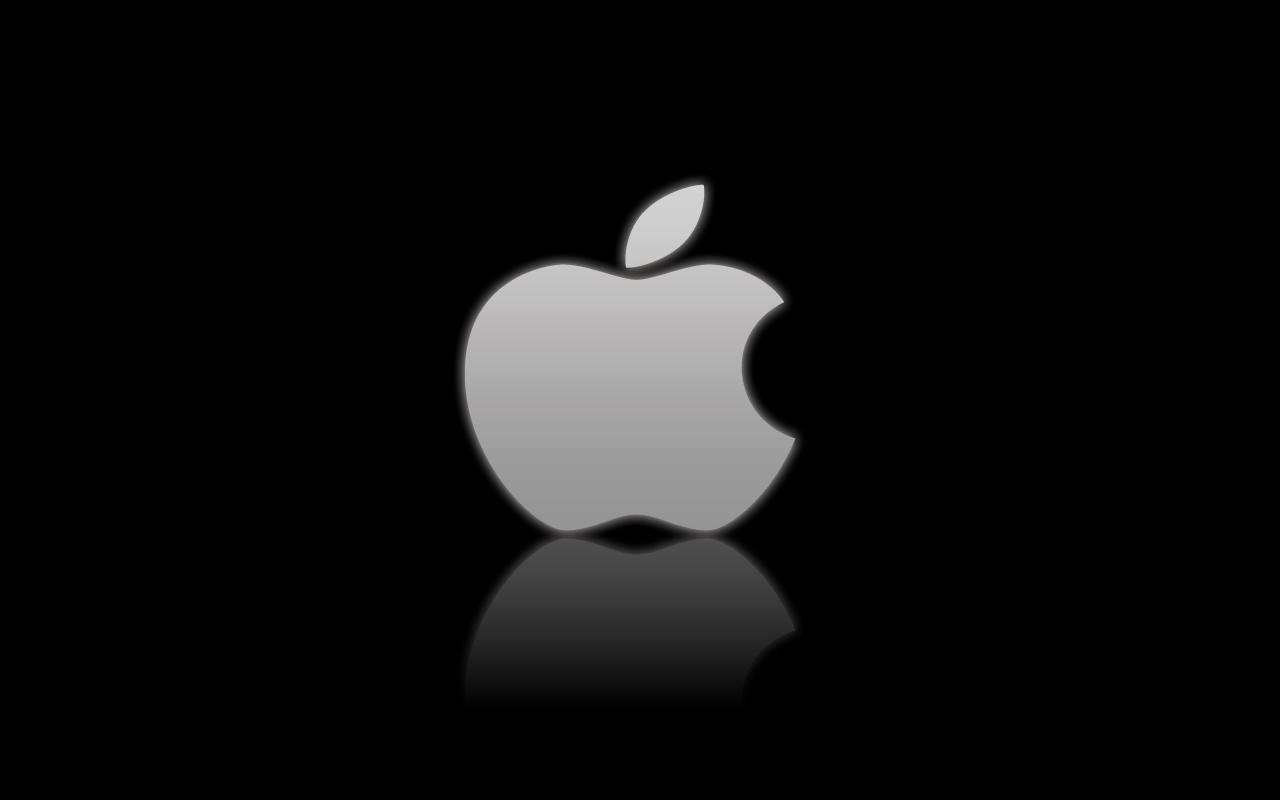 Apple Logo on Black by 1nteresting on DeviantArt