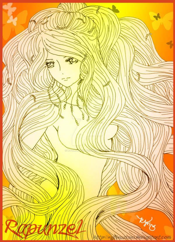 Rapunzel ver.1 by Ryvirus21393