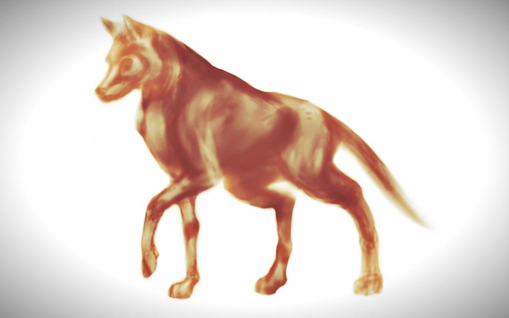 Dog Sketch by razhbi
