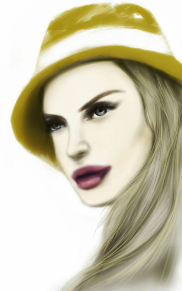 Hat Lady by razhbi