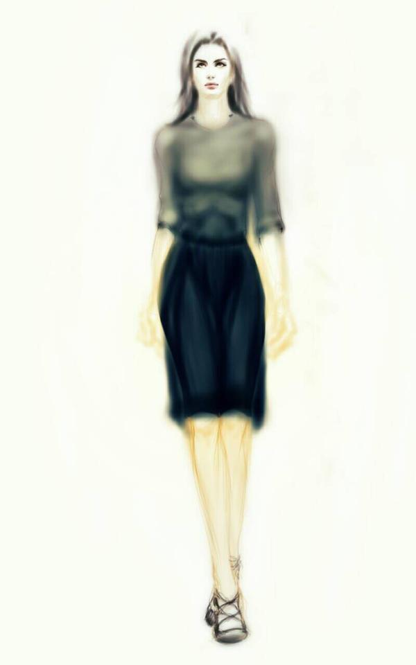 Chiffon Dress by razhbi