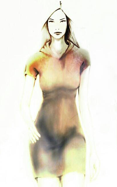 Hoodie Dress by razhbi